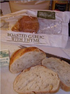 Trader Joe's Roasted Garlic w/ Thyme