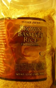 Trader Joe's Brown Basmati Rice