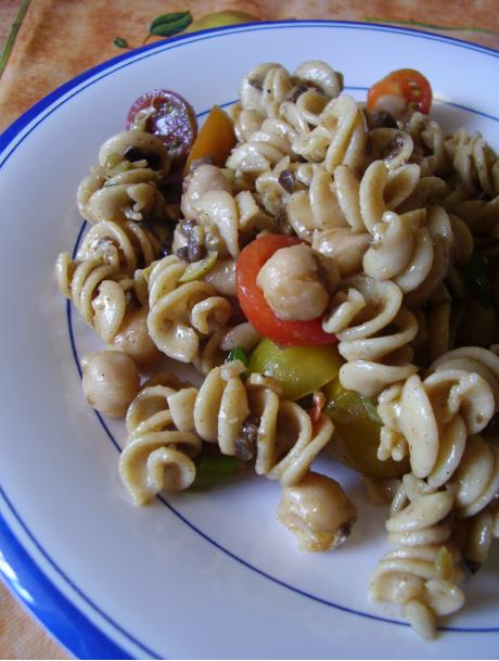Meatless Monday Easy Pasta Salad